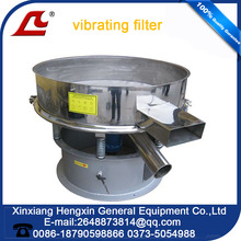 Paper pulp and Ceramic slurry filteration Circular Vibratory sifter machine
