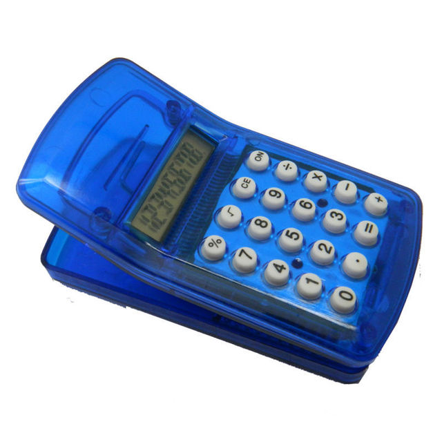 PN-2211 Mini Clip Calculator with Magnet