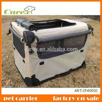 Hot sale soft-sided pet travel carrier