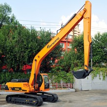 Chinese 24.1 tons/ 0.55m3 JY623ELB Sales Promotion ~ CE Mark , Long boom 24 Ton China Construction Machinery Excavator ,