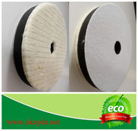Buff pads/ polishing wool pad/ wool sponge buffing pad