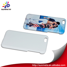 Good Quality China Supplier 3D Sublimation Printing Blank Mobile Cover Case for ip6