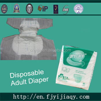 Old People Usage Disposable Adult Baby Diapers