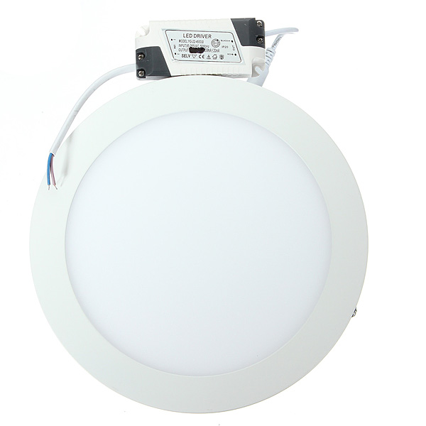AC110V 220V 6W 12W 18W No Cut Round Square LED ceiling circle round surface mounted led down lights