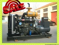 120kw weichai water cooling OPEN silent MOVED diesel generator set with ISO CPCBcertificate