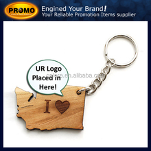hot sale cheaper price custom promotion printed wood key chains