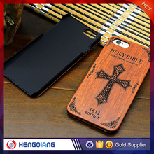High quanlity custom real wood phone case for iphone 5 /6/7