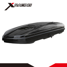 Xracing NM-9031 Black car roof storage box ABS+ASA 206*84*34cm 2017 Most popular Plastic car roof luggage box roof box for sale