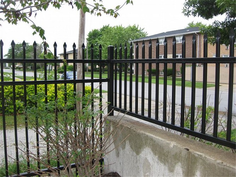 decorative wrought iron fence panels cheap fence panels. Black Bedroom Furniture Sets. Home Design Ideas