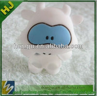 3d cartoon silicone cover case factory