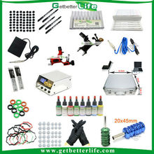 Getbetterlife dragonfly tattoo machine kit, free shipping tattoo kits