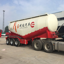 China Suppliers 3 Axles Carbon Steel Dry Bulker Cement Carrier TankTanker Semi Truck Trailer bulk trailer
