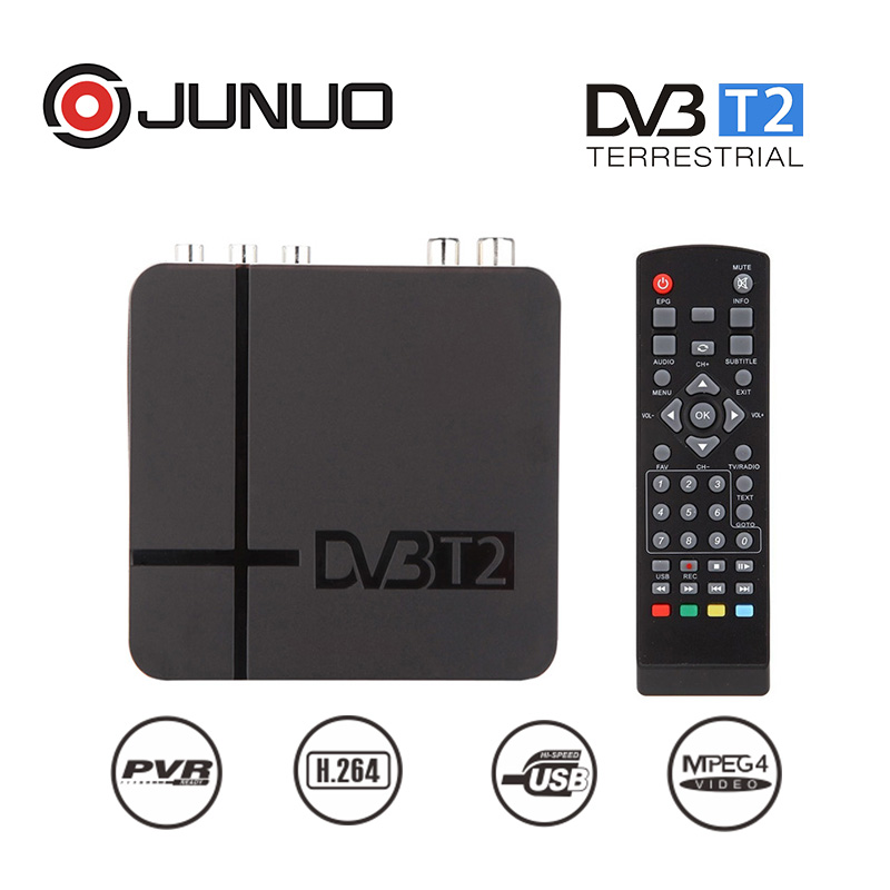 Cheap price tdt dvb-t2 decodificador converter tv box for Colombia