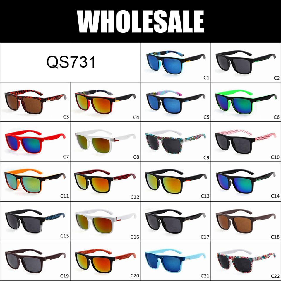 WHOLESALE - Quick Fashion Brand Sunglasses Men outdoor Sun glasses Sports Eyewear Sunnies Shades QS731