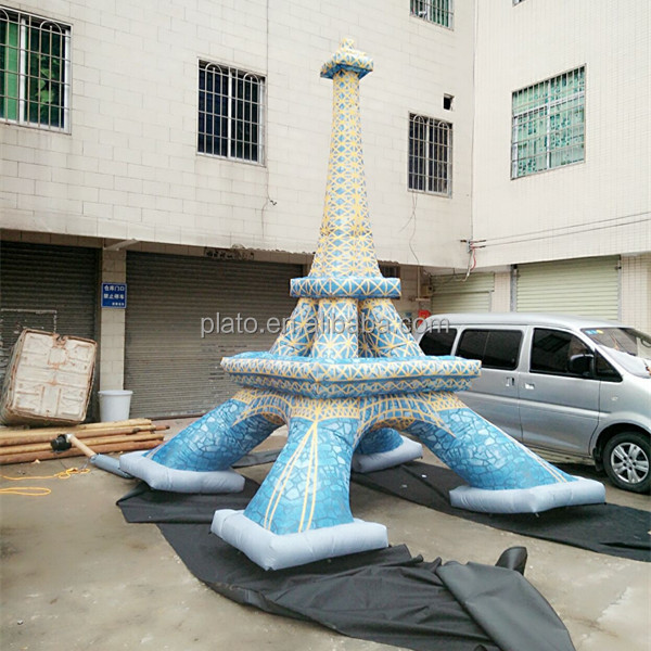 HOT sale inflatable torre eiffel model for advertising/decoration