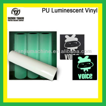 High-quality PU Heat transfer Luminescent vinyl