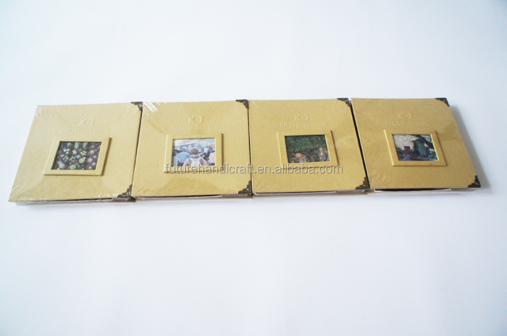 make handmade blank kraft photo album