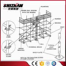 Layher ringlock scaffolding/ringlock scaffolding system/andamios layher scaffolding