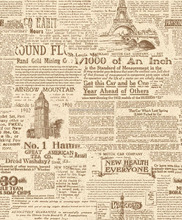 old newspaper design wallpaper special design