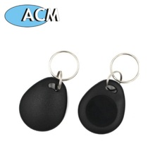 Factory supply free sample blank wholesale plastic RFID S50 key fob