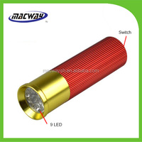 Super power hand pressing button flashlight torch