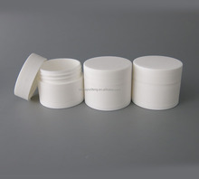 10G small white plastic cream container for eye cream use