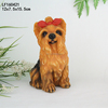 resin Cute pug home decorative dog