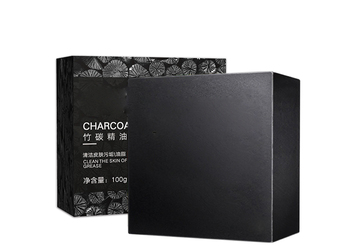 Wholesale men face wash bamboo charcoal soap