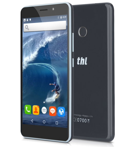 2016 Original THL T9 5.5'' HD Screen Android 6.0 MT6737 Quad Core Smartphone 1G RAM 8G ROM Fingerprint Touch ID 13MP Cell Phones