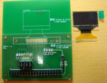1.3 inch 128*64 resolution OLED display YX-2864KSWLG01