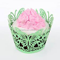 12 pcs Paper Cake Type Muffin Cake Butterfly Cupcake Wrapper
