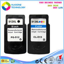 refill ink cartridges Compatible canon ink cartridge PG-512 CL-513 for canon pixma ip2700