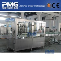 DGF18-6 Tin plate pop can soft drink filling and capping machine for beverage line / soda can filling machine