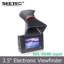 SEETEC small and portable 3.5 inch lcd electronic view finder with SDI HDMI input