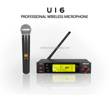 U16 Karaoke Microphone / Multi-channel PLL UHF Wireless Microphone