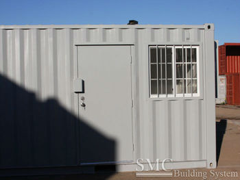 steel frame container house