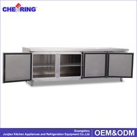 Industrial Work Bench Refrigerator Worktable Fridge