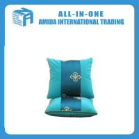 Chinese style high-grade cotton travel 2 in 1 pillow blanket