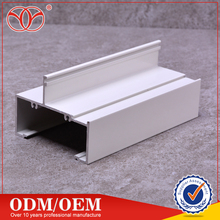 Supply manufacturer costomized sliding door window extruded Aluminum sliding window door track channel profile
