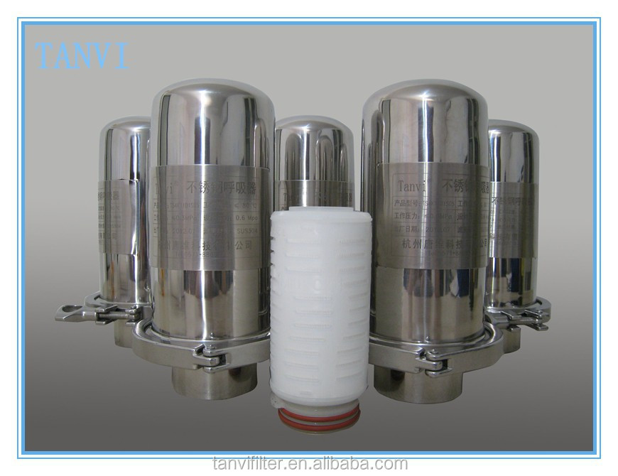 N66 pleated filter cartridge for Folding food grade nylon membrane filter