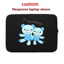 China supplier wholesale customized neoprene laptop sleeve 14 Inch