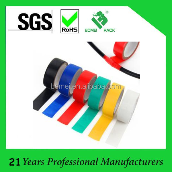 High Adhesvie Low Voltage PVC Electrical Insulation Tape