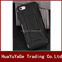 3 in 1 Future Armor Belt Clip Holster kickstand case for Apple iphone 6 6S 4.7""