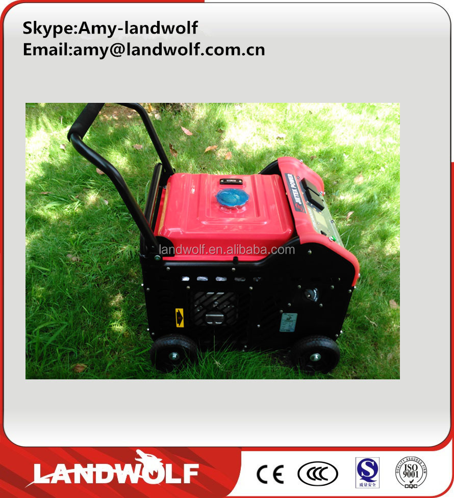 small air-cooled gasoline generator 220v portable inverter China generator
