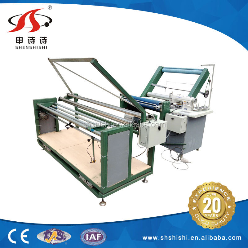 Factory best durable fabric stitch SSPS-318 automatic edge folded sewing stitching machine