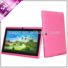 Free shipping!! Cheapest dual camera dual core HDMI tablet pc