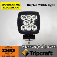6400 lumens car head lamp 80W offroad led work light, led driving light