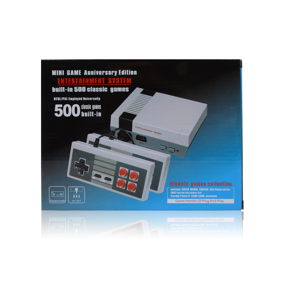 Wholesale Top Quality 620 Retro classic family video game console of the 80s