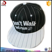Fashion 2016 Design 3D Embroidery Hat Custom Two Tone Snapback Cap