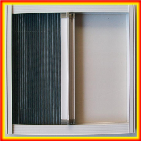 Standard pleated screen window/Mosquito Pleated Screen Windows